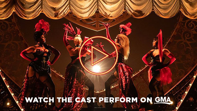 Watch the cast of Moulin Rouge! The Musical on Good Morning America